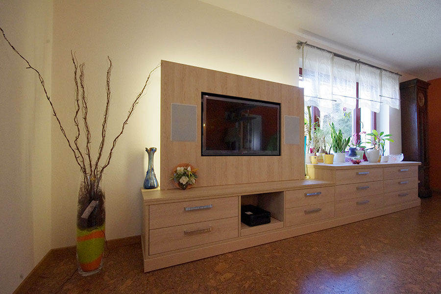 wohnraumm bel tischlerei weigel. Black Bedroom Furniture Sets. Home Design Ideas